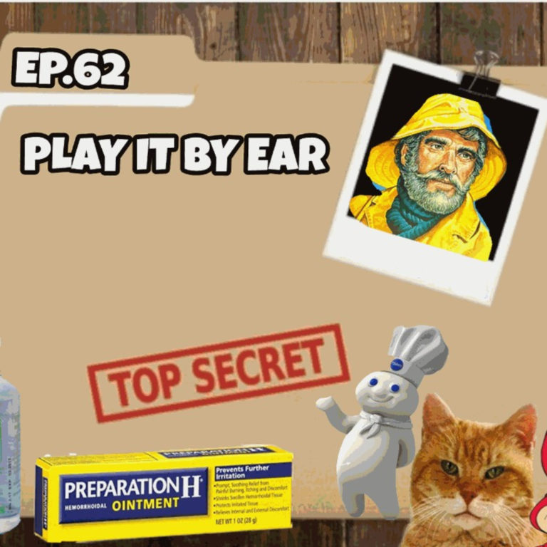 Episode 62: Conspiracy Theories that we believe; brand mascots; Misery Index game